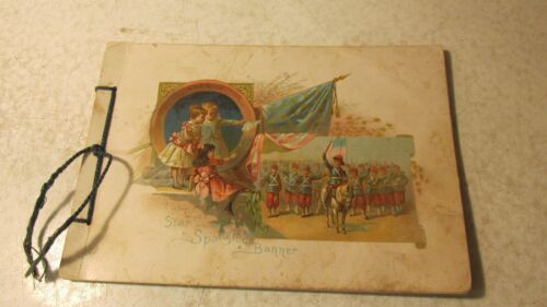 """1894 Woolson Spice """"Songs of All Nations"""" Anthems"""