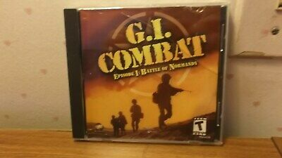G.I. Combat Battle Of Normandy Air Combat World War II 2 pc cd rom video game