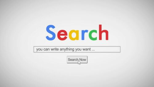 I will reveal your logo with a customized SEARCH engine animation