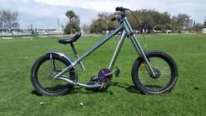 Jesse James West Coast chopper push bike Cruiser Chopper Bike