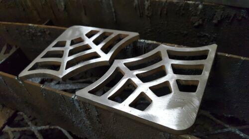 """Spider Web Steel Gusset 1/4"""" Mild Steel Weld 4"""" x 4"""" Legs  set of 4"""