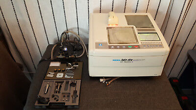 Nidek 3d-fit Le-9000ex Pl4 Patternless Edger Screen Out Of Service Year 2000
