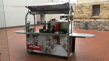 Complete MVU Coffee Cart with coffee machine and grinder Flagstaff Hill Morphett Vale Area Preview