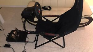 PLAYSEAT CHALLENGE AND LOGITECH G29