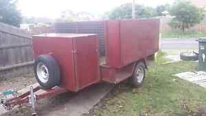 Heavy  duty 7x5 lawn mowing trailer Jacana Hume Area Preview