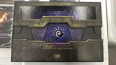 Usado, STARCRAFT II 2 heart of swarm collector's edition mousepad, box, dvd segunda mano  Embacar hacia Argentina
