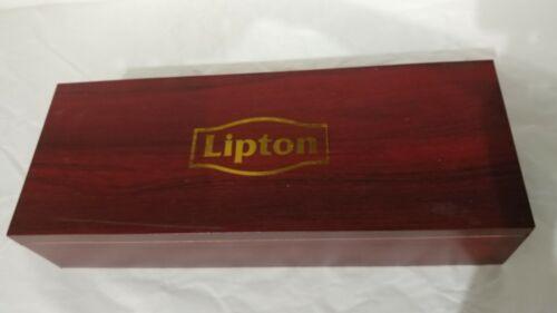 Lipton Wood Wooden Tea Chest Box