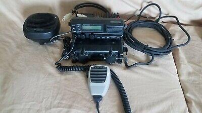 Kenwood Tk-5710 Ver. 2.0 50 Watt Rear Mount P25 Vhf Mobile Radio With Ext Spkr