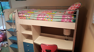 Bunk bed with desk, draws and shelves Chapel Hill Brisbane North West Preview