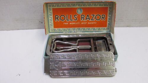 Vintage Rolls Razor Imperial No 2  Made in England w Box 1950