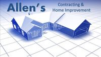 Renovations, Basements, Fences, Decks