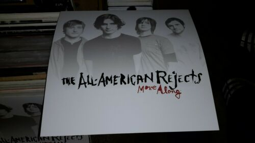 all American rejects-move-along-1posterflat-2sided-12×12inches-nmint!!!!