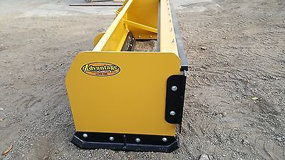 SNOW PUSHER PULLBACK box blade plow skid steer bobcat 10 f BEST VALUE (Best Skid Steer Snow Plow)