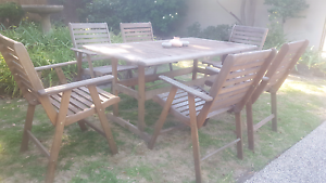 "INCLUDES DELIVERY!! ""Nullabor"" 7 Piece Outdoor Dining Setting.!! Sunbury Hume Area Preview"