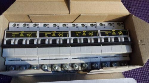 AEG ELFA MINIATURE CIRCUIT BREAKER E83S 3 POLE C2 CTRIP 10KA  ((BRAND NEW))