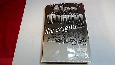 Andrew Hodges Alan Turing The Enigma First Edition