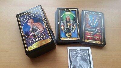 The Gilded Tarot - Wahrsagekarten Ciro Marchetti NEU