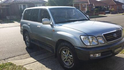 Lexus LX470 4WD / 100 Series Landcruiser 8 seater! Sale! Earlwood Canterbury Area Preview