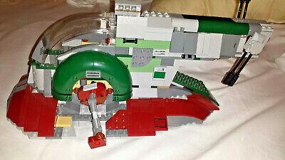 LEGO Star Wars Slave 1 2010 8079 Incomplete Set