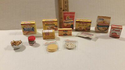 Barbie Doll 1:6 Kitchen Miniature Mexican Food Rice Tortillas Tacos Cheese Chips