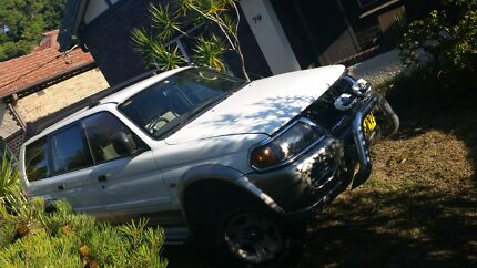 2000 4x4 Mitsubishi challenger 3lt Arncliffe Rockdale Area Preview