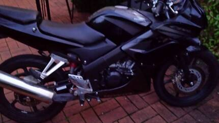 2007 Honda CBR125 City North Canberra Preview