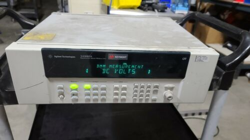 AGILENT 34980A MULTIFUNCTION SWITCH MEASURE 8-SLOT MAINFRAME with 2  34922A
