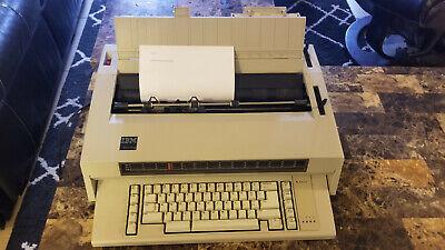 Ibm Wheelwriter 3 Type 674x Electronic Typewriter 1984