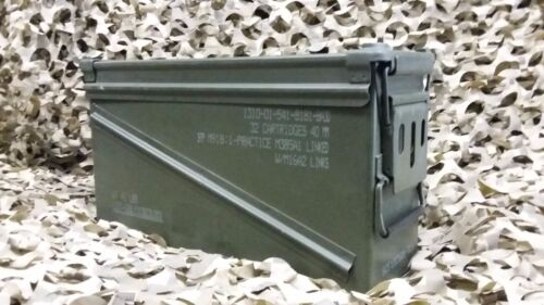 """PA120, BA30 40mm  AMMO CAN """"VERY GOOD CONDITION"""" * FREE SHIPPING*"""