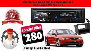 Holden Commodore AX1502BT VY Series I Single Din Car Stereo Dandenong North Greater Dandenong Preview