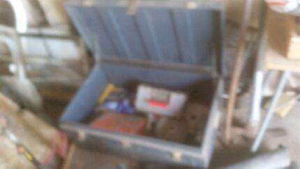 Blue RAAF 1mx600x400 tool box Windella Maitland Area Preview