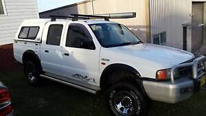 1999 Ford Courier 4x4 Cardiff Lake Macquarie Area Preview
