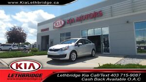 2017 Kia Rio ONE OWNER, LOW KMS, 1.6L 4CYL, BLUETOOTH