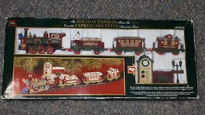 New Bright The Holiday Express #178 Christmas Train Set 2001 Rare Vintage Works