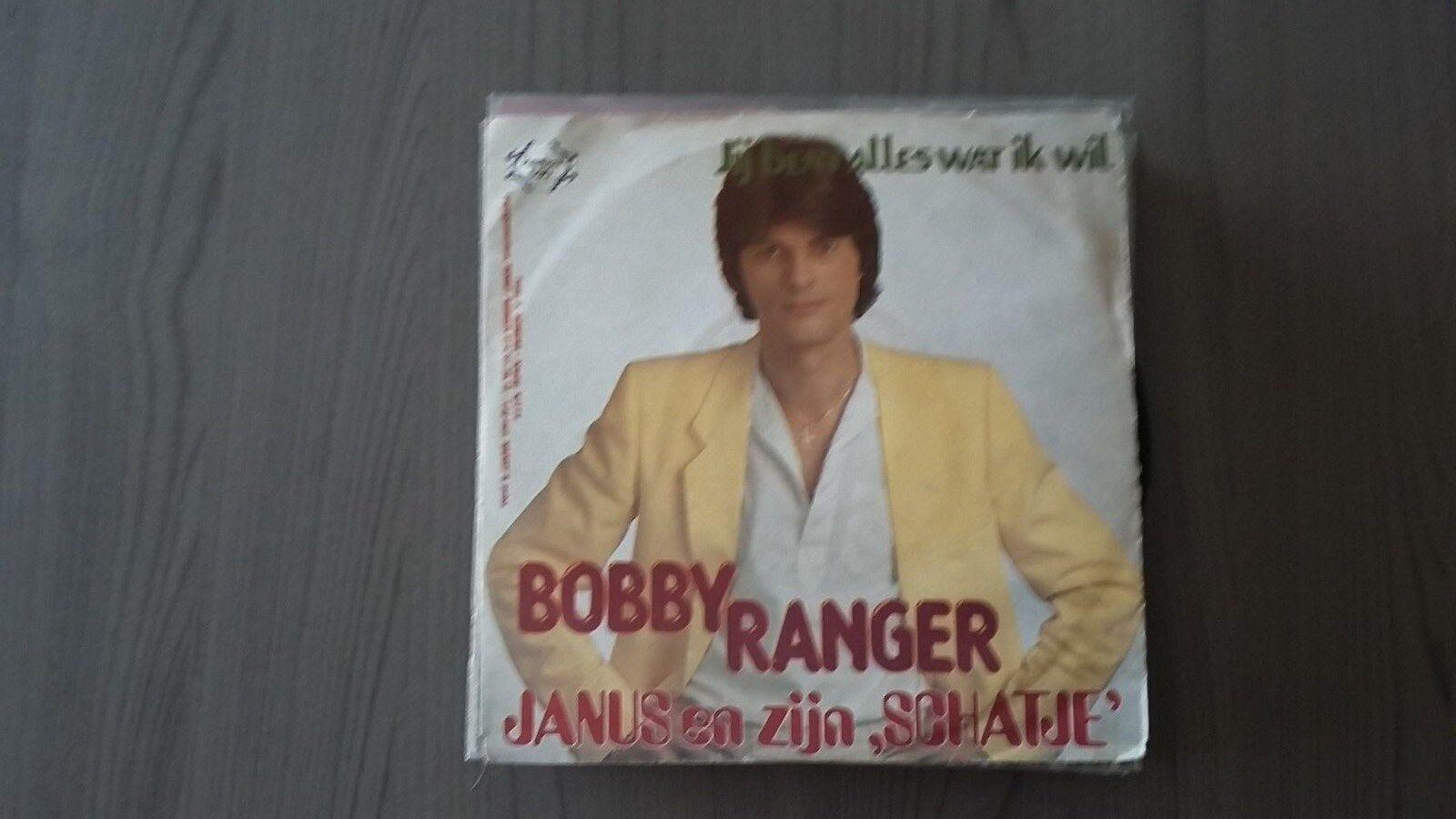 45t  BOBBY RANGER-JANUS EN ZIJN SCHATJE---