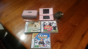 Nintendo ds lite with games & case Bedford Park Mitcham Area Preview