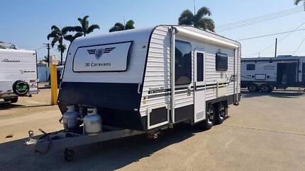 """2012 JB Caravans Dreamline Luxury 19"""" Ensuite Caravan"""