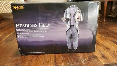 Spirit Halloween Headless Help Used Animated Prop
