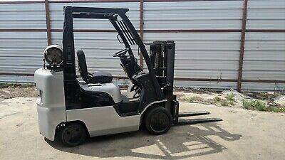 Counterbalance Seat Up Forklift.nissan 06 Lpg Truck Lift In Great Working Shape