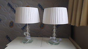Bedside Lamps (2) Matching Lane Cove North Lane Cove Area Preview