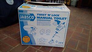 2 X NEW SAIL BOAT TOILET - Jabsco Twist 'N' Lock Manual Toilet Croydon North Maroondah Area Preview