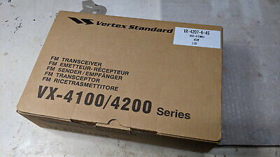 Vertex  Vx-4207-6-45 Uhf 45 Watt Mobile 400-470 Mhz Ham