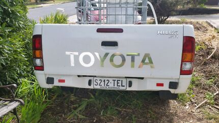 Toyota hilux trailer extra long tube Hackham Morphett Vale Area Preview