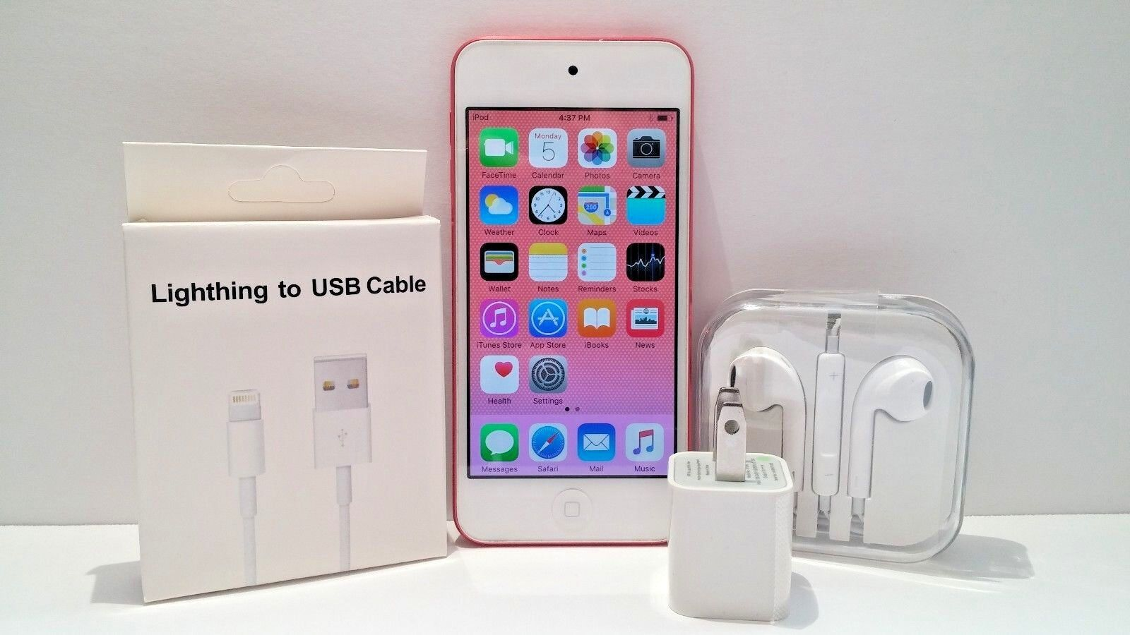 A1421 Apple iPod Touch 5th Generation 32GB Pink MP3 MP4 Dual Cameras Warranty