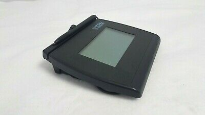 Topaz Signature Gem Lcd 4x3 Signature Pad Usbserial T-l755-bhsb