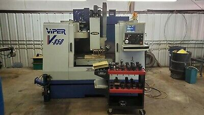 Mighty Viper V-850 Vertical Machining Center Cnc Milling Machine 48 X 18
