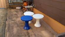 PLASTIC ROUND COFFEE TABLES Warrimoo Blue Mountains Preview