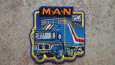 2 Stück Aufnäher MAN Truck LKW  Neu  (Nr.796)