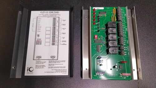 IO HVAC Controls Zone Control Panel ZP2-HC