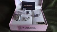 Ny London Jewellery Set Watch Necklace Earrings And Ring With Box New/unused - ny london - ebay.co.uk